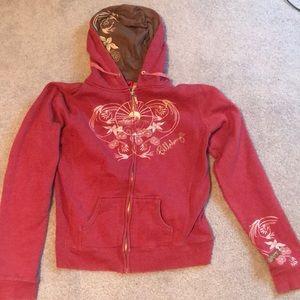 Billabong- zip up hoodie